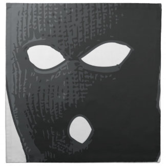 criminal-mask napkin