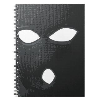 criminal-mask spiral notebook