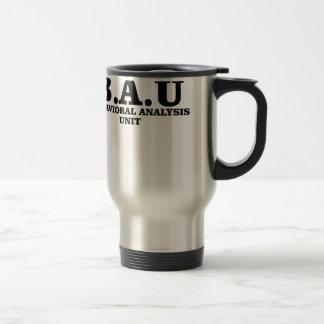 Criminal Minds BAU Behavioral Analysis Unit Shirts Travel Mug