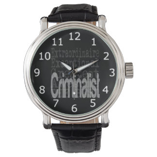 Criminalist Extraordinaire Watch