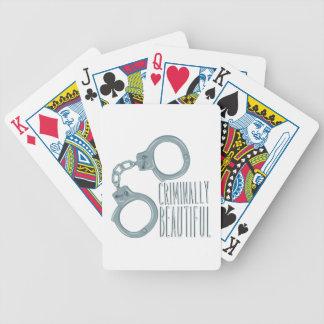 Criminally Beautiful Poker Deck