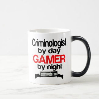 Criminologist by Day Gamer by Night Magic Mug