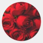 """""""Crimson Bouquet"""" Sticker"""