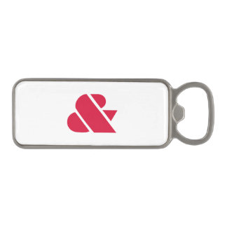 Crimson Braggadocio Magnetic Bottle Opener