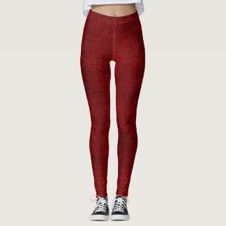 Crimson Canvas Leggings