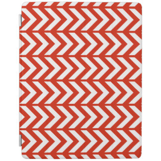 Crimson Chevron 3 iPad Cover