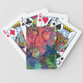 Crimson Dawn Bicycle Playing Cards