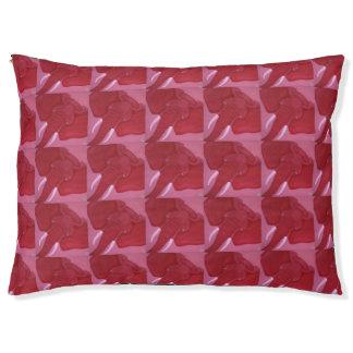 Crimson Elephant Dog Bed