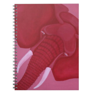 Crimson Elephant Notebook