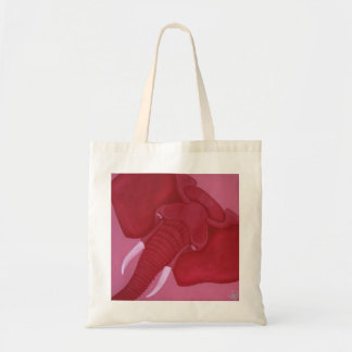 Crimson Elephant Tote