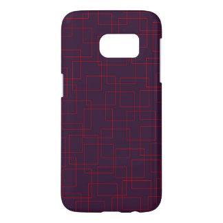 Crimson Ice on Plum Samsung Galaxy S7 Case