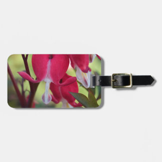Crimson Jubilation Luggage Tag