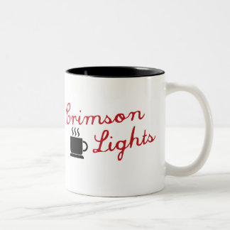 Crimson Lights Two-Tone Coffee Mug