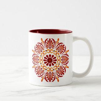 Crimson Mandala Mug