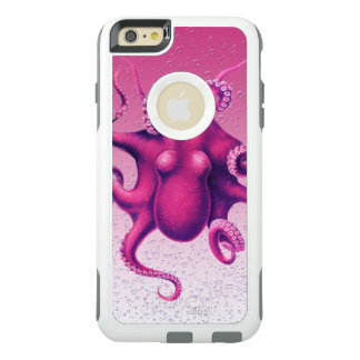 crimson octopus OtterBox iPhone 6/6s plus case