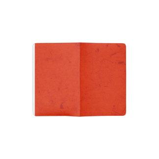 Crimson Papyrus Pocket Moleskine Notebook
