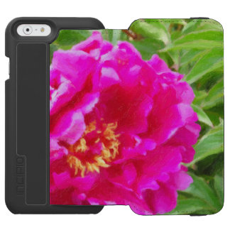 crimson peony art incipio watson™ iPhone 6 wallet case