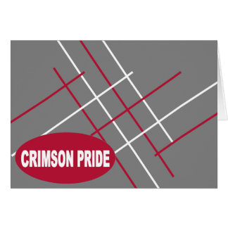 Crimson Pride Note Card