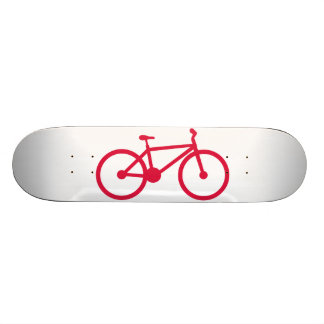 Crimson Red Bicycle Skate Boards