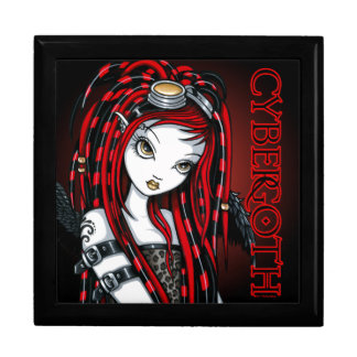 """Crimson"" Tattoo Cybergoth Angel Gift Boxes"