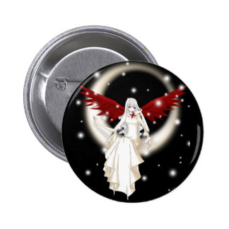 Crimson Wings! Collector Button 2 Inch Round Button