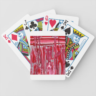 crimson winter landscape 121517 bicycle playing cards