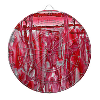 crimson winter landscape 121517 dartboard