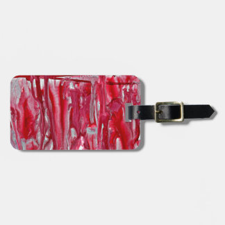 crimson winter landscape 121517 luggage tag