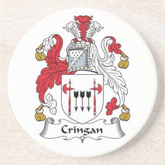 Cringan Family Crest Coaster