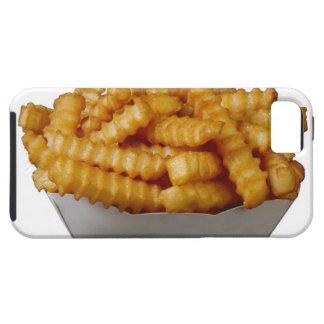 Crinkle-cut french fries iPhone 5 covers