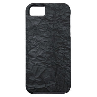 Crinkled Black Paper Case-Mate Vibe iPhone 5 Case