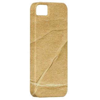 Crinkled Cardboard iPhone 5 Covers