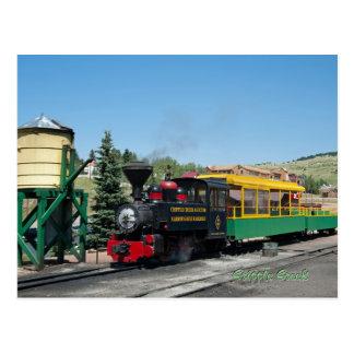 Cripple Creek & Victor Narrow Gauge Railroad Postcard