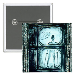 Crippled Man II 2 Inch Square Button