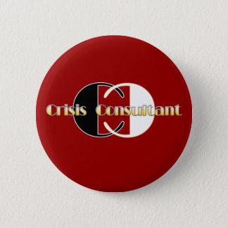 crisis 2 inch round button