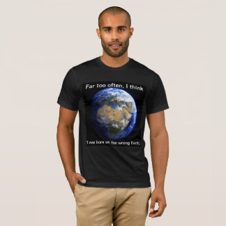 Crisis on Earth Wherever T-Shirt