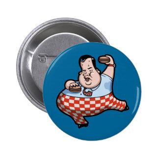 Crisp Chrispy Prez of Burgers 2 Inch Round Button