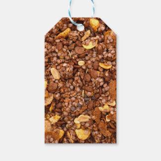 Crisp Muesli Texture Pack Of Gift Tags