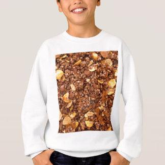 Crisp Muesli Texture Sweatshirt