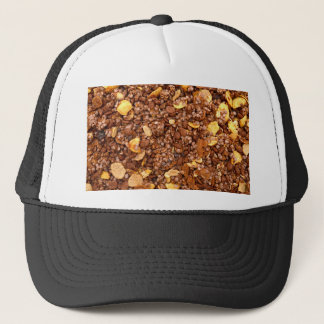 Crisp Muesli Texture Trucker Hat