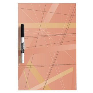 Criss Cross Background Dry Erase Board