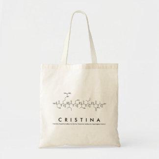 Cristina peptide name bag