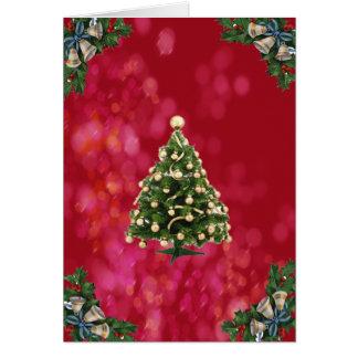 Cristmas Tree Card
