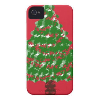 Cristmas Tree Joy iPhone 4 Covers
