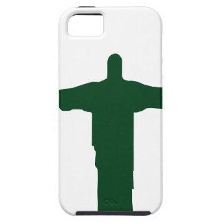Cristo Redentor_green iPhone 5 Case