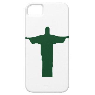 Cristo Redentor_green iPhone 5 Cover