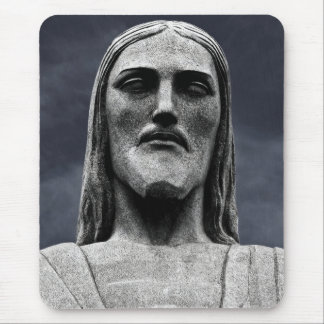 Cristo Redentor statue on Corcovado mountain Mouse Pad
