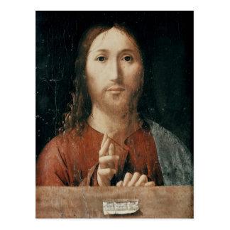 Cristo Salvator Mundi, 1465 Postcard