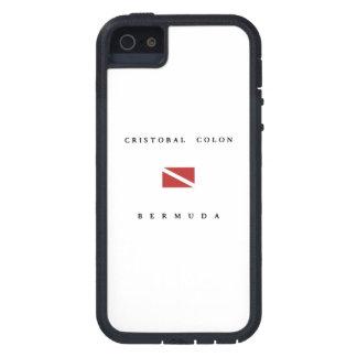 Cristobal Colon Bermuda Scuba Dive Flag iPhone 5 Covers
