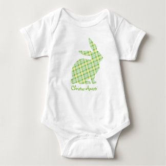 Cristos Anesti Green Bunny Infant Bodysuit